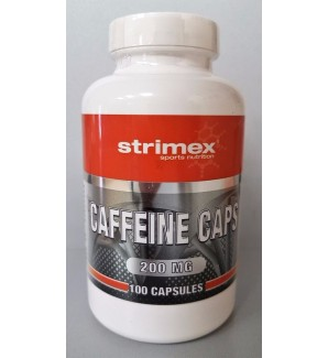 Strimex Caffeine 200 мг (100 капс)