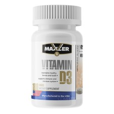 Maxler    Vitamin D3 1200ME  (180 табл)