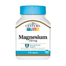 21st Century    Magnesium 250 мг   110 таблеток