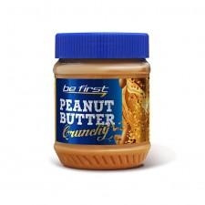 Be First    Арахисовая паста Crunchy c дробленым арахисом   (340 гр)