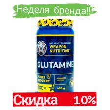 Weapon Nutrition   L-GLUTAMIN Power Recovery   (400 гр)