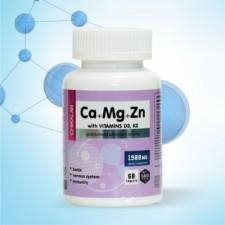 Bombbar    Ca+Mg+Zn (with D3, K2)    (60 табл)