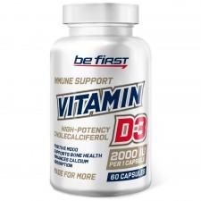 Be First    Vitamin D3  2000 IU   (60 капс)