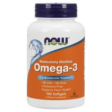 NOW   Omega - 3  (100 капс)