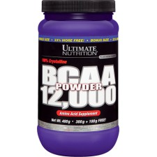 Ultimate Nutrition   Flavored BCAA 12000 Powder  (454 гр)